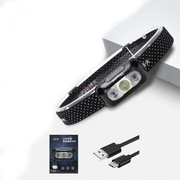 Lanterna pentru cap Supfire HL05, USB, 219lm, 74m, incarcare USB, control miscare mana [1]
