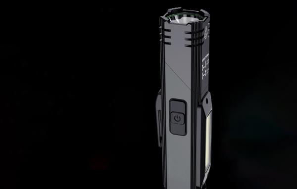 Lanterna Multifunctionala LED Supfire G19, USB, 500lm, 200m, incarcare USB, lumina rosie, suport cap, prindere magnetica [2]