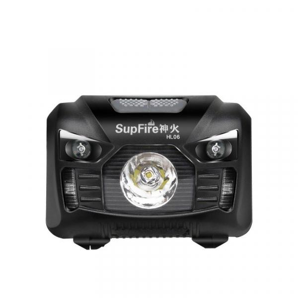 Lanterna pentru cap Supfire HL06, USB, 240lm, 300m [1]