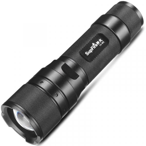 Lanterna Supfire F3-XPE, USB, ZOOM, 300lm, 250m 0
