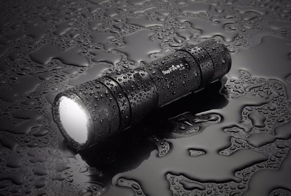 Lanterna Supfire F3-XPE, USB, ZOOM, 300lm, 250m 5