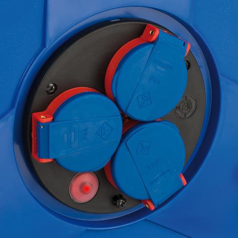 Prelungitor Exterior Brennenstuhl Garant cu tambur, 3 prize, AT-N05V3V3-F 3G1,5, 25m, IP44 [1]