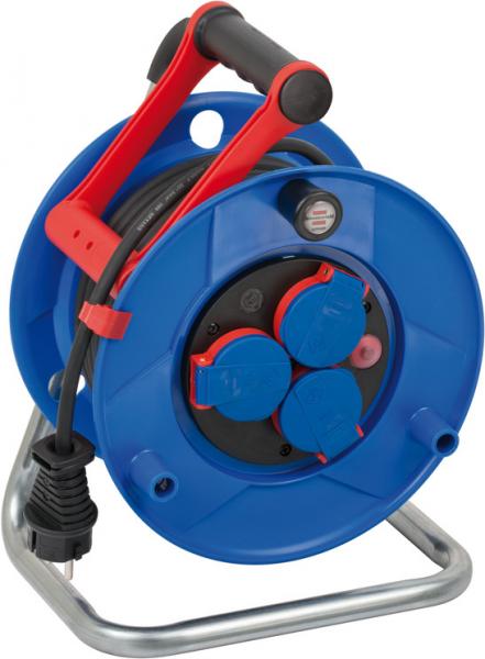 Prelungitor Exterior Brennenstuhl Garant cu tambur, 3 prize, H05RR-F 3G1,5, 20m, IP44 0