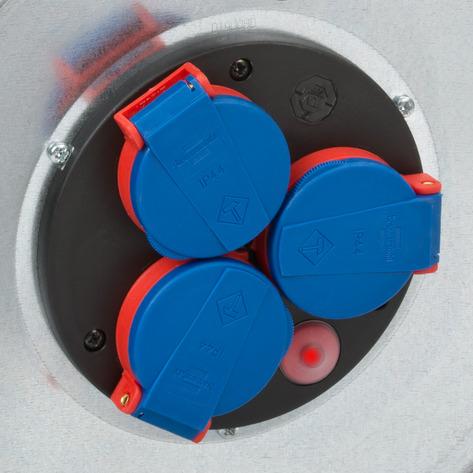 Prelungitor Exterior Brennenstuhl Garant S cu tambur, 3 prize, 25m, IP44 [1]