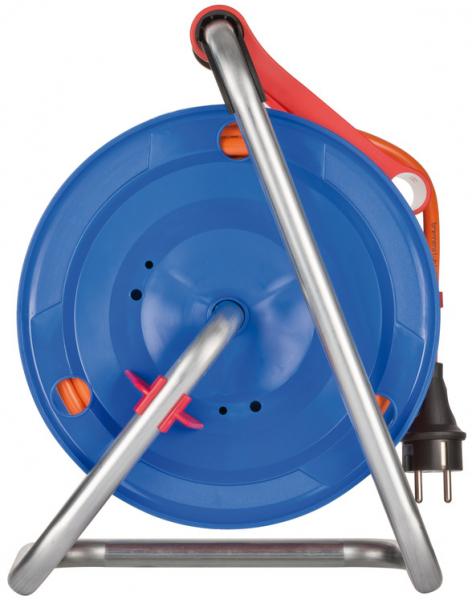 Prelungitor Exterior Brennenstuhl Garant cu tambur , 3 prize, AT-N07V3V3-F 3G1,5, 25m, IP44 [4]