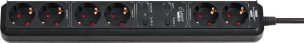 Prelungitor Smart Brennenstuhl Connect Eco-Line WiFi H05VV-F3G1 ,1,5m , 5prize, Alexa, Google [0]