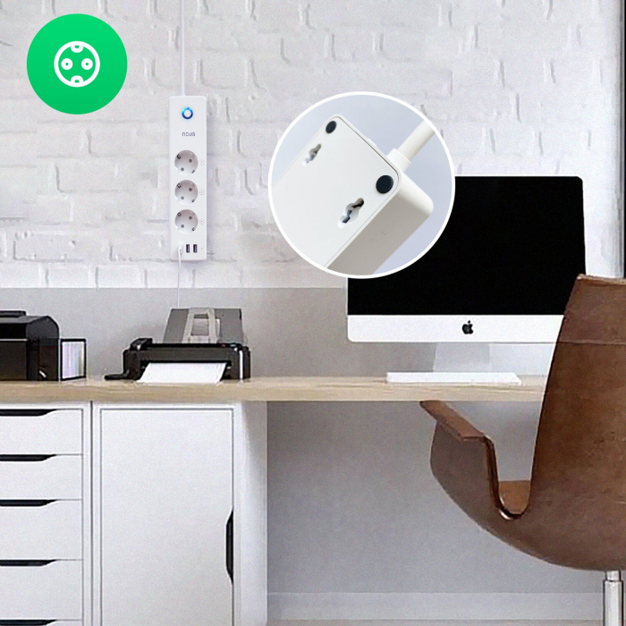Prelungitor Smart Nous A5, Wifi, 15W. 3.1A [3]