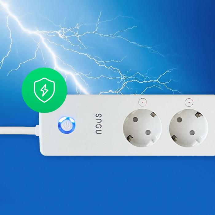 Prelungitor Smart Nous A5, Wifi, 15W. 3.1A 8