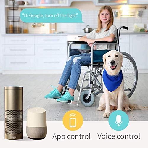 Prelungitor smart WiFi Meross MSS42E, 3 Prize, 4 x USB, Cablu 1.8m, Alexa, Google Assistant 5