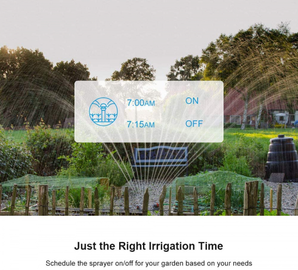Priza Smart Sonoff S55 pentru exterior rezistenta la apa, Control din Smartphone 3