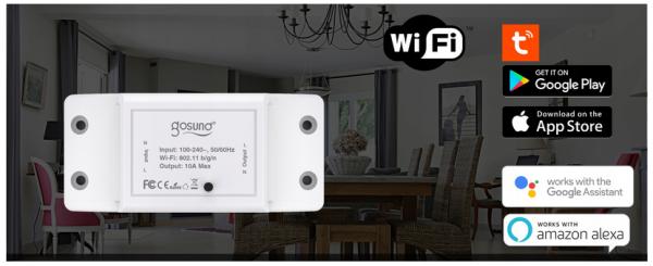 Releu Smart WiFi Gosund SW3 [2]