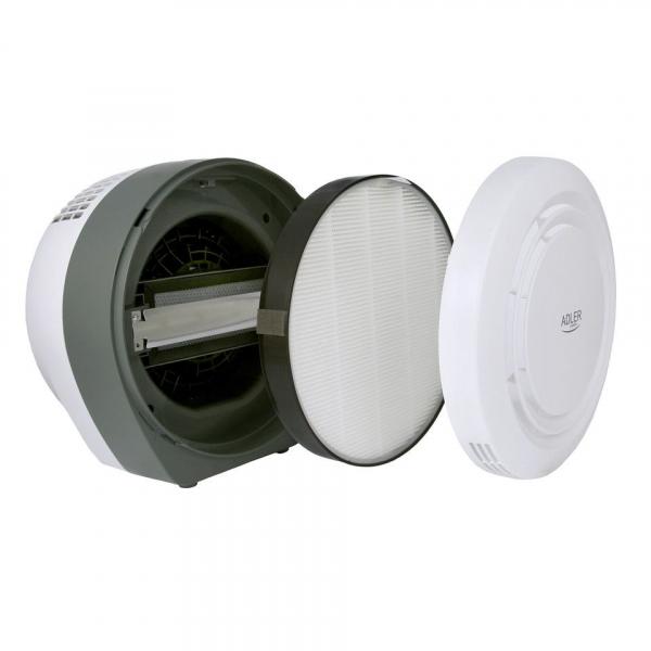 Purificator de aer ADLER AD 7961, 45 Wati, Filtru HEPA, Lampa UV, Filtru fotocatalictic ,Functie ionizre 3