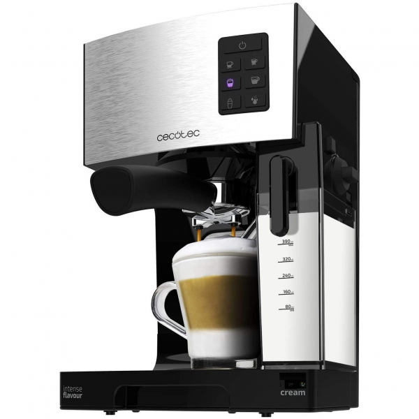 Espressor semi-automat Cecotec Power Instant-ccino 20, 1450 W, 20 bar, 1.4 l, rezervor lapte 400 ml - Resigilat [0]