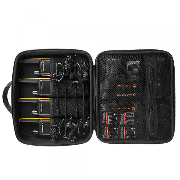 Statie radio PMR portabila Motorola TALKABOUT T82 Extreme Quad set, 4 buc 4