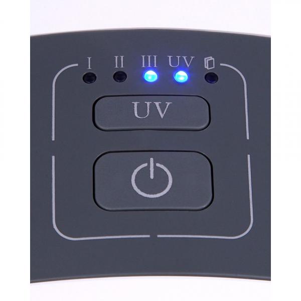 Purificator de aer ADLER AD 7961, 45 Wati, Filtru HEPA, Lampa UV, Filtru fotocatalictic ,Functie ionizre 4