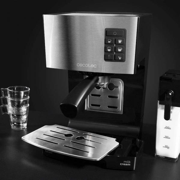 Espressor semi-automat Cecotec Power Instant-ccino 20, 1450 W, 20 bar, 1.4 l, rezervor lapte 400 ml - Resigilat [3]