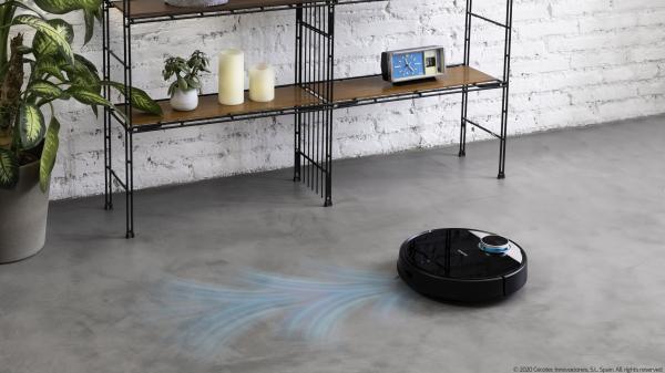 Robot de aspirare Cecotec Conga 3390, 4 in 1, 2300 Pa, Laser, Autonomie 150 minute, Rezervor lichide si praf, Functie mop, 2 perii centrale 11