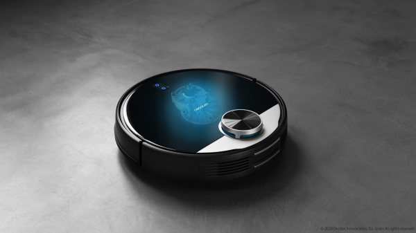 Robot de aspirare Cecotec Conga 3390, 4 in 1, 2300 Pa, Laser, Autonomie 150 minute, Rezervor lichide si praf, Functie mop, 2 perii centrale 12