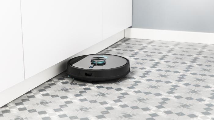 Robot de aspirare Cecotec Conga 6090 Ultra, 4 in 1, 10000 Pa, Laser, Autonomie 240 minute, Rezervor lichide si praf, Functie mop, 3 perii centrale, telecomanda inclusa 5
