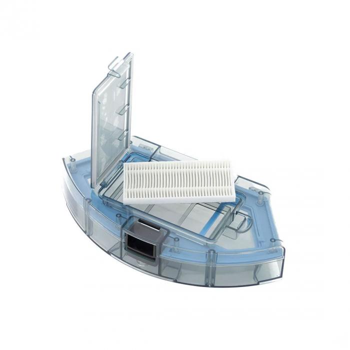 Robot de aspirare Tesvor S6, 2700 Pa, Laser, Autonomie 120 minute, Rezervor lichide si praf, Functie mop [15]