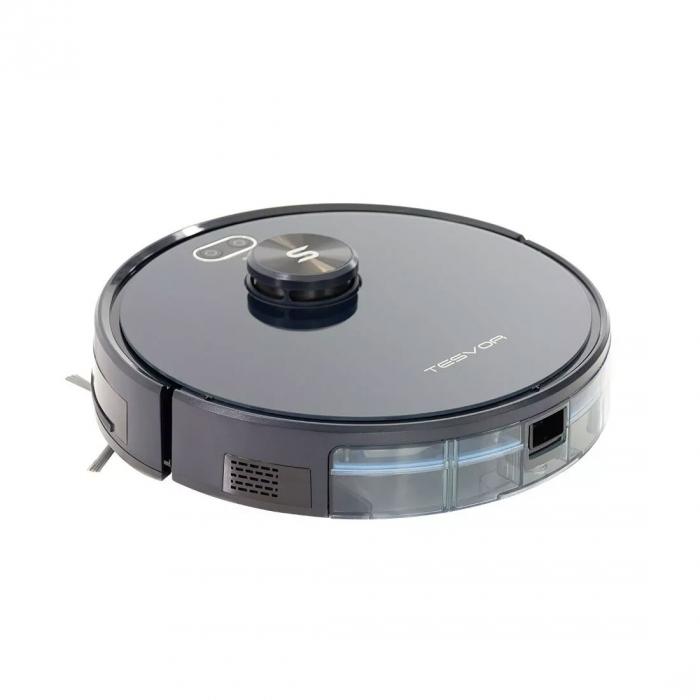 Robot de aspirare Tesvor S6, 2700 Pa, Laser, Autonomie 120 minute, Rezervor lichide si praf, Functie mop [10]