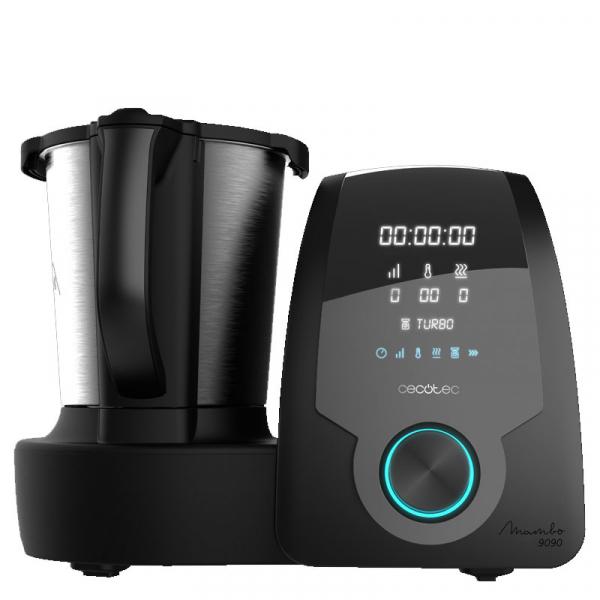 Multicooker multifunctional Cecotec Mambo 9090, 1700W, Capacitate 3.3 Litri, 30 functii pentru gatit, pana la 4 preparate in acelasi timp, accesorii incluse 6