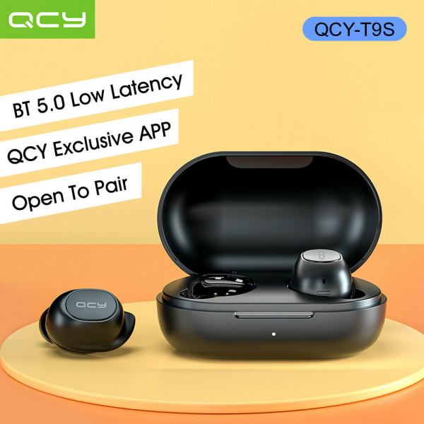 Casti audio In-Ear QCY T9S TW, Bluetooth 5.0,  TWS, True Wireless 3
