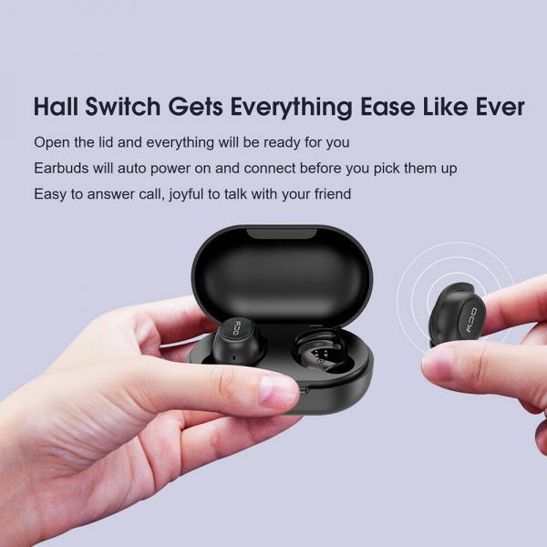 Casti audio In-Ear QCY T9S TW, Bluetooth 5.0,  TWS, True Wireless [11]