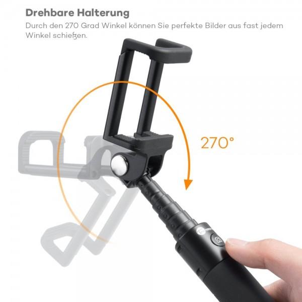 Selfie Stick TaoTronics TT-ST001 cu Bluetooth din aluminiu 2