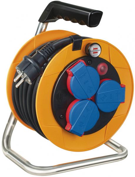 Set Prelungitor Exterior Brennenstuhl Power-Pack IP44 cu tambur, 3 prize, 10m H07RN-F 3G1,5, prelungitor 10m H07RN-F 3G1,5 Prelungitor 5 m cu priza H07RN-F 3G1,5 [3]