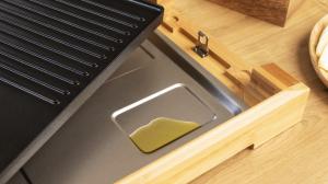 Gratar electric Cecotec Tasty&Grill 2000 Bamboo, 2000W, cadru din bambus, termostat reglabil4