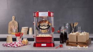 Aparat pentru popcorn, Cecotec Fun&Taste P´Corn Classic, 300W, inox, lumina interna [2]