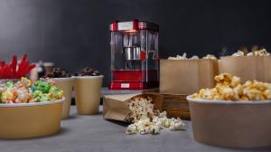 Aparat pentru popcorn, Cecotec Fun&Taste P´Corn Classic, 300W, inox, lumina interna [5]