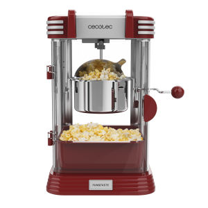 Aparat pentru popcorn, Cecotec Fun&Taste P´Corn Classic, 300W, inox, lumina interna [0]