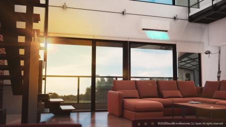 Aer conditionat Cecotec EnergySilence12000 AirClima Connected, 12000 BTU, Wifi, A++, 25 m2, Control dinTelefon, Incalzire, Dezumidificare, 5 moduri si 3 optiuni de operare cu 8 viteze [1]
