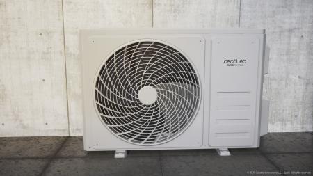 Aer conditionat Cecotec EnergySilence12000 AirClima Connected, 12000 BTU, Wifi, A++, 25 m2, Control dinTelefon, Incalzire, Dezumidificare, 5 moduri si 3 optiuni de operare cu 8 viteze [3]