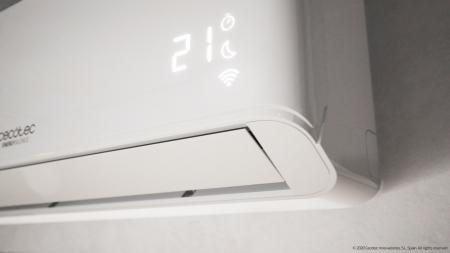 Aer conditionat Cecotec EnergySilence12000 AirClima Connected, 12000 BTU, Wifi, A++, 25 m2, Control dinTelefon, Incalzire, Dezumidificare, 5 moduri si 3 optiuni de operare cu 8 viteze [5]