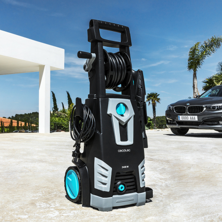 Aparat de spalat cu presiune Cecotec HidroBoost 2400 Home&Car, Accesorii incluse, 180 BAR, 480 L/h ,2400 W [9]