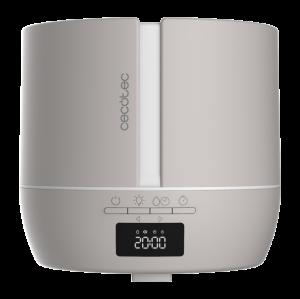 Difuzor aroma cu Ultrasunete Smart Cecotec PureAroma 550 Connected, control din Smartphone, 7 culori LED, boxa incorporata - Gri [1]