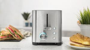 Prajitor de paine Cecotec YummyToast Double, 850 W, Inox, Indicator cu luminare LED [3]