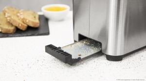 Prajitor de paine Cecotec YummyToast Double, 850 W, Inox, Indicator cu luminare LED [5]