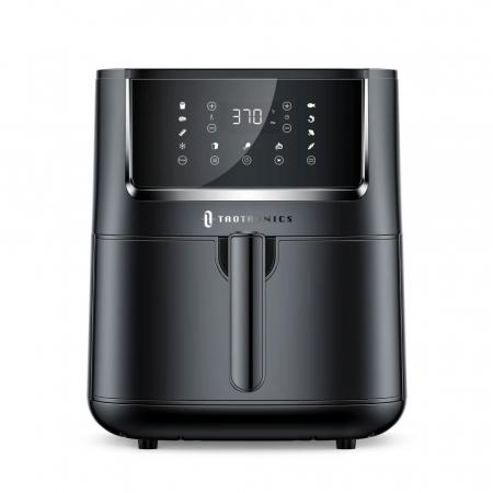 Friteuza cu aer cald, fara ulei TaoTronics TT-AF001 Air Fryer, 1750W, 6L, Control tactil, 11 Programe Presetate [0]