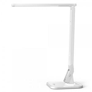 Lampa de birou LED TaoTronics TT DL02 control Touch, 4 moduri, 14W, USB - Alba0