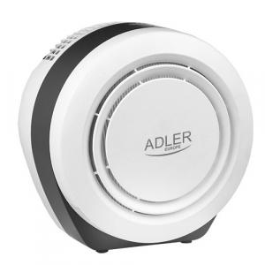 Purificator de aer ADLER AD 7961, 45 Wati, Filtru HEPA, Lampa UV, Filtru fotocatalictic ,Functie ionizre0