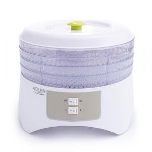 Deshidrator de alimente ADLER AD 6654, 400 W, 4 Tavi, 2 Trepte temperatura0