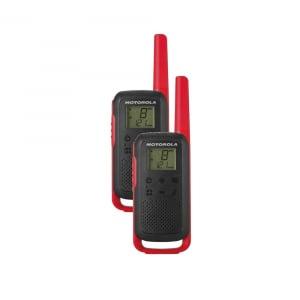 Statie radio PMR portabila Motorola TALKABOUT T62 RED, set cu 2 buc0