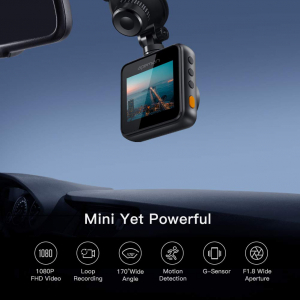 Camera auto DVR  Dubla Apeman C420D, Full HD,  Bord si Spate, Unghi 170 grade, Detector miscare, G-Sensor, Mod parcare, Filmare in bucla [2]
