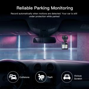 Camera auto DVR  Dubla Apeman C420D, Full HD,  Bord si Spate, Unghi 170 grade, Detector miscare, G-Sensor, Mod parcare, Filmare in bucla [5]