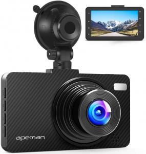 Camera auto DVR Apeman C450, Full HD, Unghi 170 grade, G-Sensor, Mod parcare, Filmare in bucla [0]