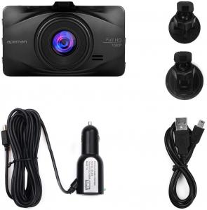 Camera auto DVR Apeman C450, Full HD, Unghi 170 grade, G-Sensor, Mod parcare, Filmare in bucla [6]